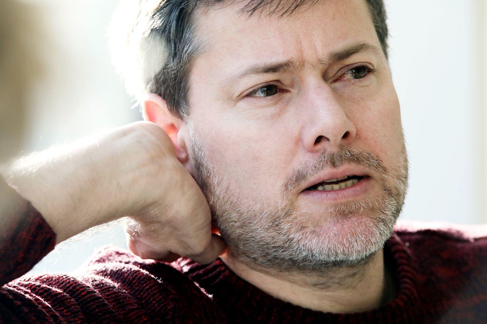 13.02.2020, Berlin/Charlottenburg. Milo Rau (43), Regisseur, Theaterautor, Essayist und Wissenschaftler. *** 13 02 2020,