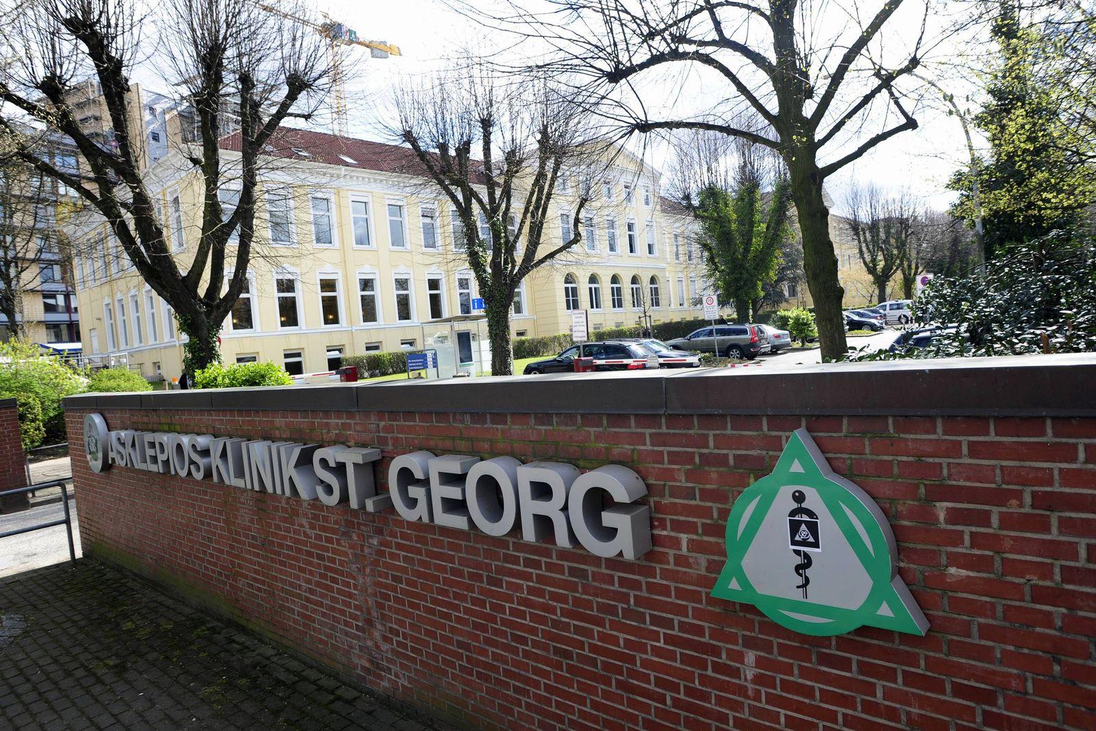 EINMALIGE VERWENDUNG Asklepios Klinik St. Georg Hamburg
