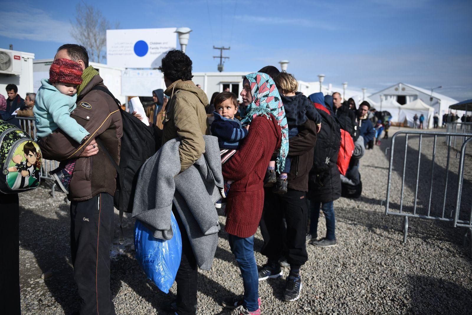 Flüchtlinge / Griechenland / Mazedonien