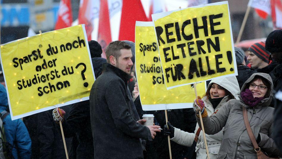 Demo gegen Studiengebühren: In Bayern wurde jetzt deren Ende besiegelt