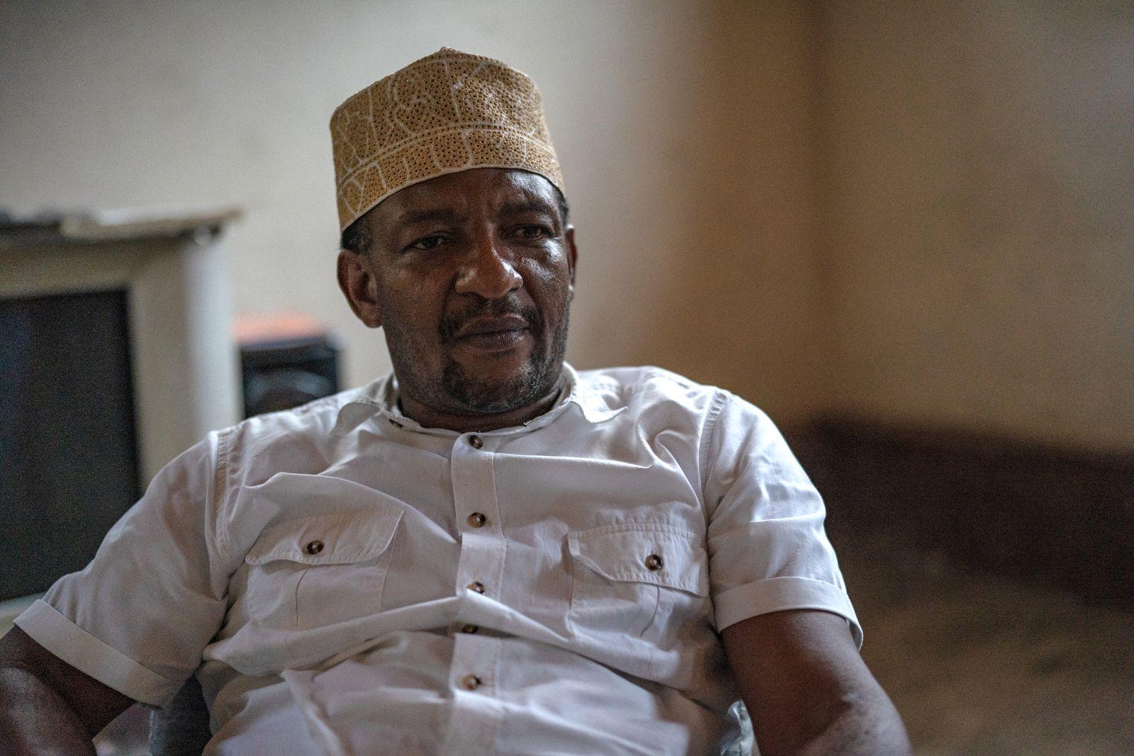 SoberHouse6 Abduhlrahman Abdullah, Leiter des Tent Sober Houses