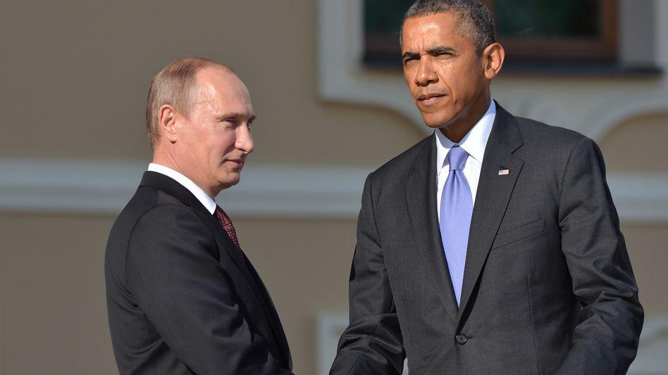 """Präsidenten Putin, Obama (Archiv): """"Mögliches Nachspiel"""""""