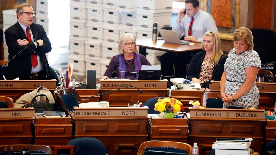 Debatte in Iowas Parlament