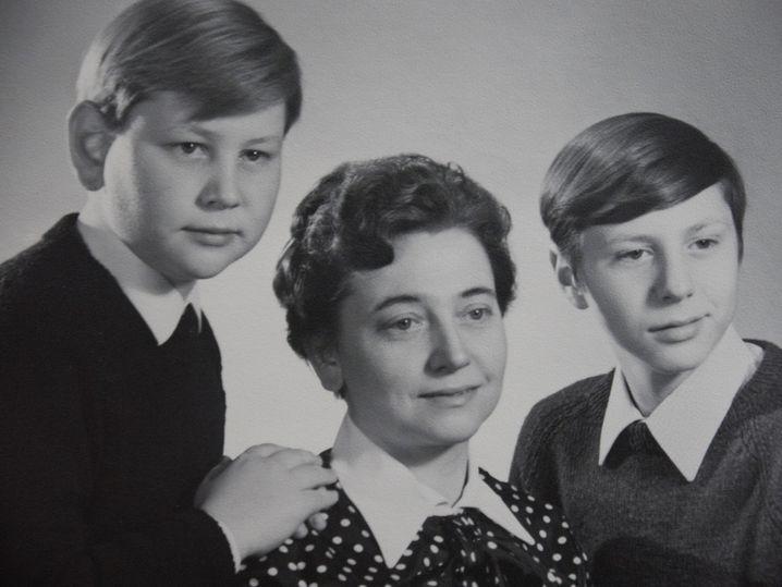 Dirk, Brigitte und Gerd Kampling