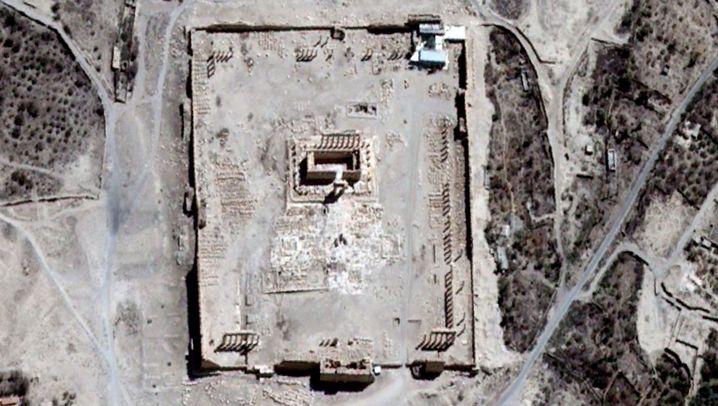 Baaltempel in Palmyra: Zerstörtes Welterbe