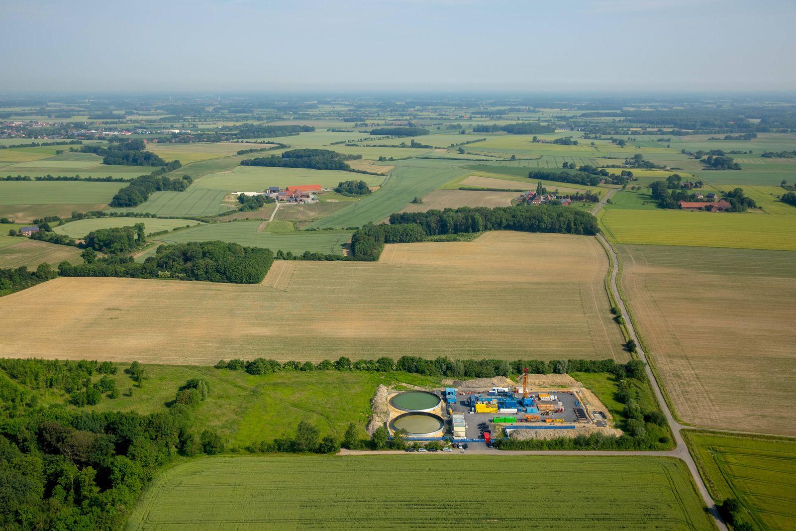 EINMALIGE VERWENDUNG Fracking