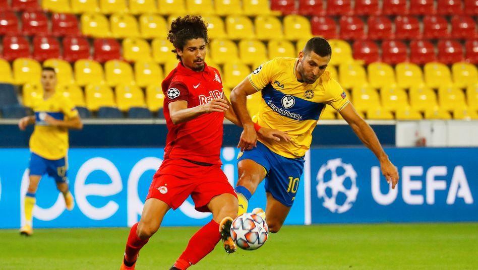 RB Salzburg gewann gegen Maccabi Tel Aviv auch das Rückspiel