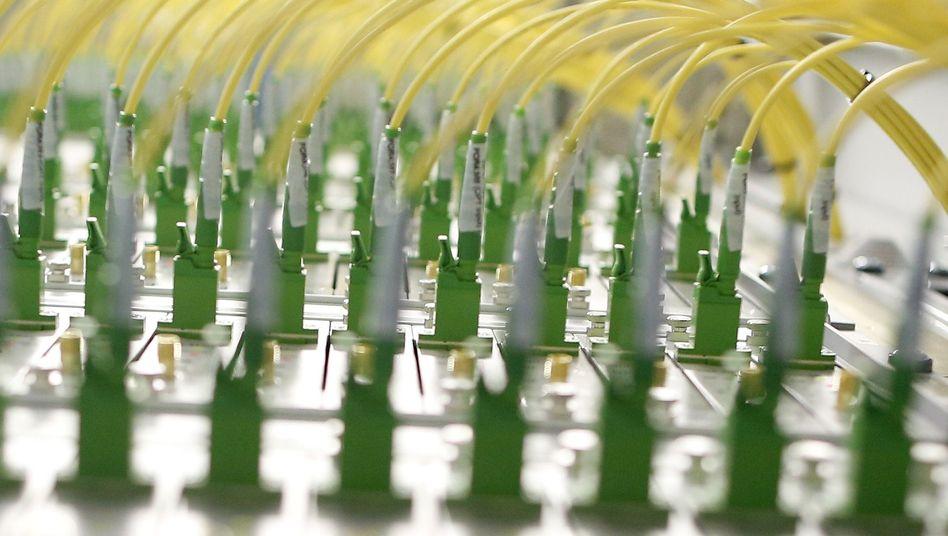 Glasfaserkabel: Anzapfen, was sonst?