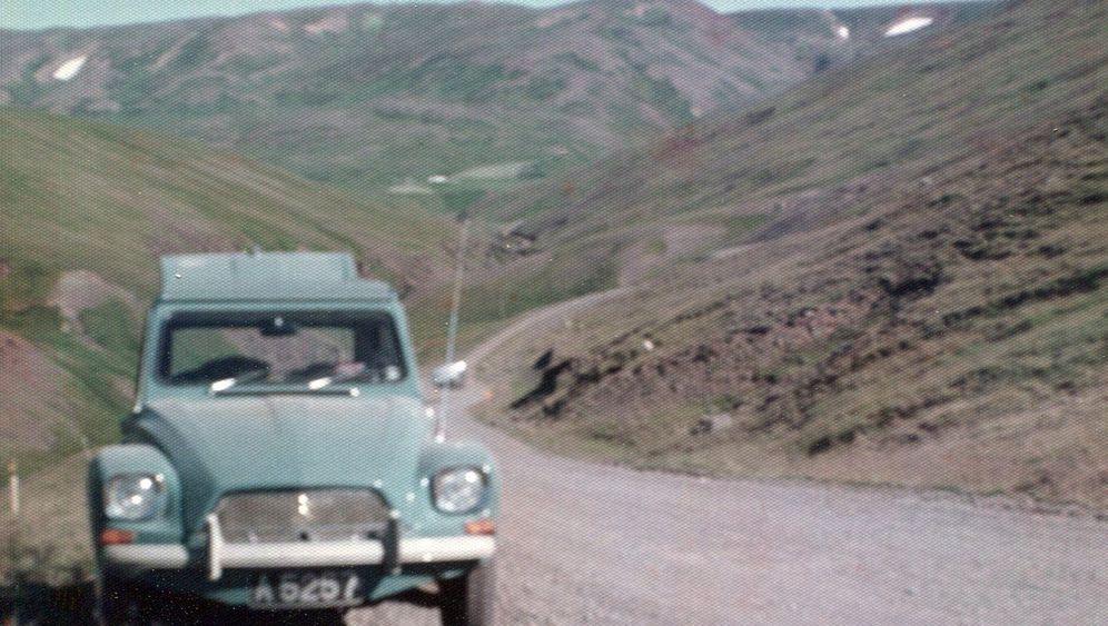 Citroën Dyane 6: Island erschweben