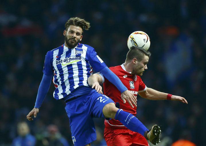 Abwehrspieler Plattenhardt: 2014 aus Nürnberg gekommen