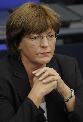 In hot water: German Health Minister Ulla Schmidt.