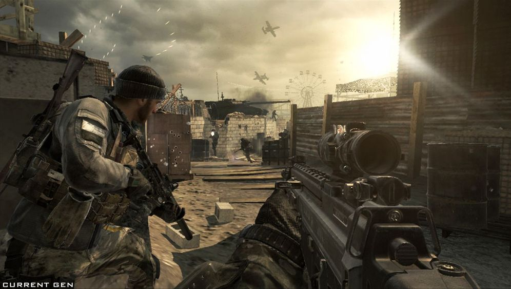 """""""Call of Duty: Ghosts"""": Explosionen in der Hochglanzfassung des Moorhuhns"""
