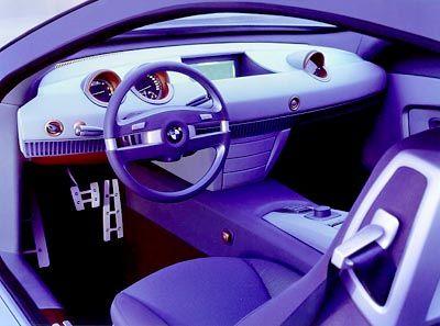 Willkommen in der Zukunft: Das Cockpit des BMW Z9 Gran Turismo