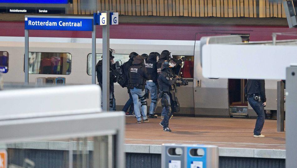 Hauptbahnhof Rotterdam: Polizei evakuierte aus Sicherheitsgründen einen Thalys-Fernzug