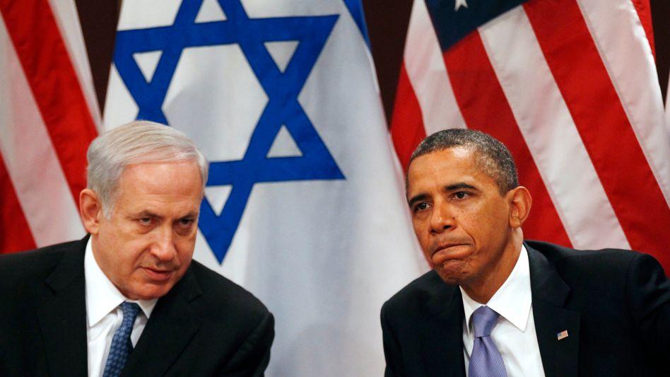 Netanjahu und Obama bei der Uno in New York 2011: Uneins über Iran-Frage