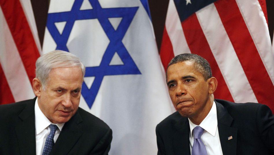 Netanjahu und Obama (Archivaufnahme): Telefonat der Regierungschefs