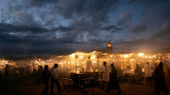 Marrakesch: Souks, Shopping und Storchennester