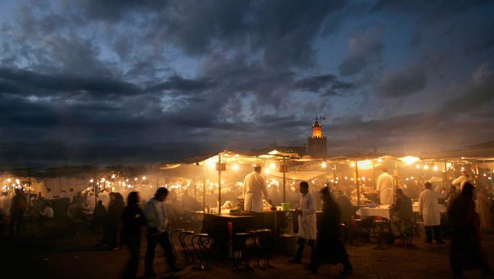 Marrakesch: Souks, Shopping und Storchennester