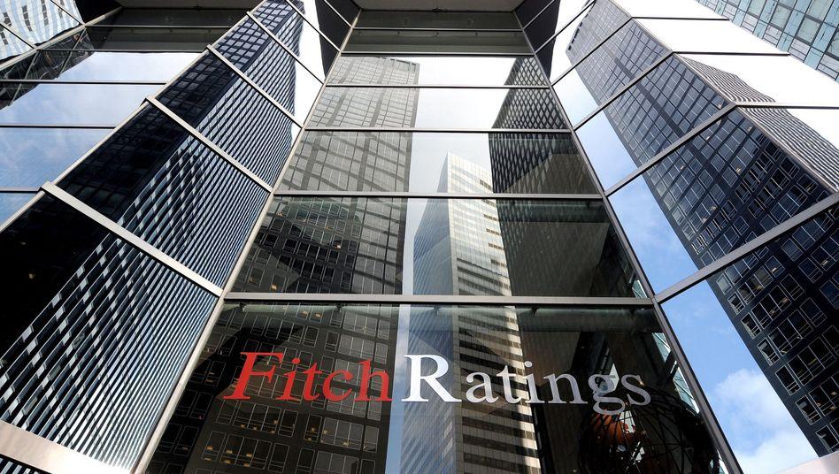 """Fitch-Zentrale in New York: """"Keine umfassende Lösung der Euro-Krise zu erreichen"""""""