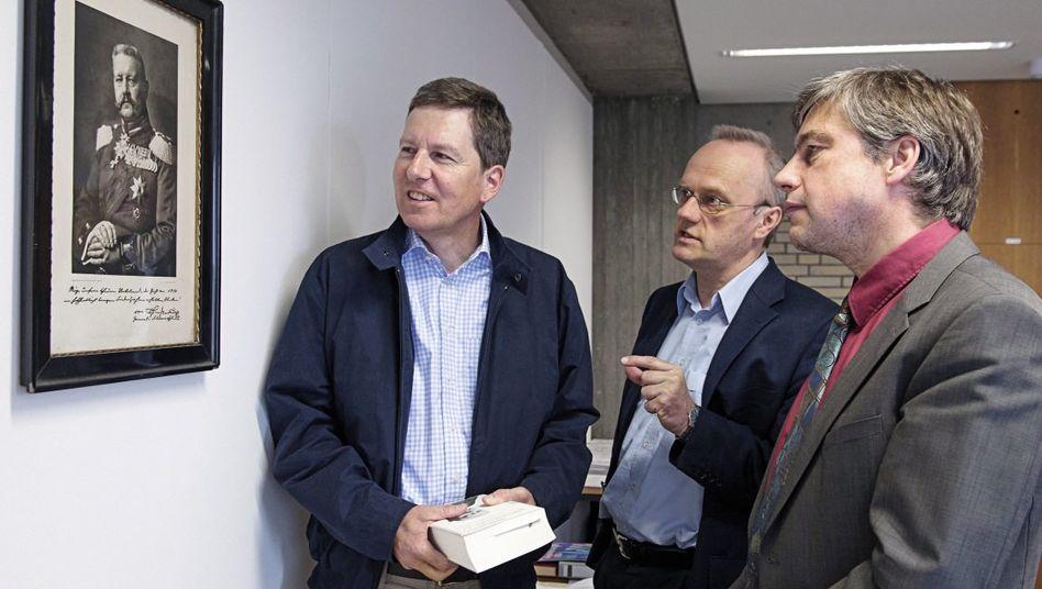 Mohr, Klußmann, Pyta in Stuttgart