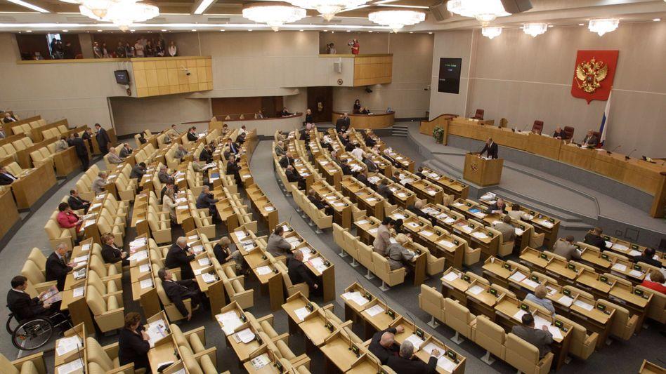 Polit-Skandal in Moskau: Die Knöpfchendrücker aus der Duma