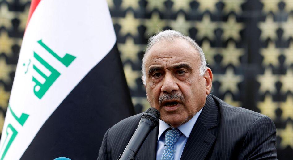 Abd Al-Mahdi ist derzeit nur als Übergangspremier im Amt