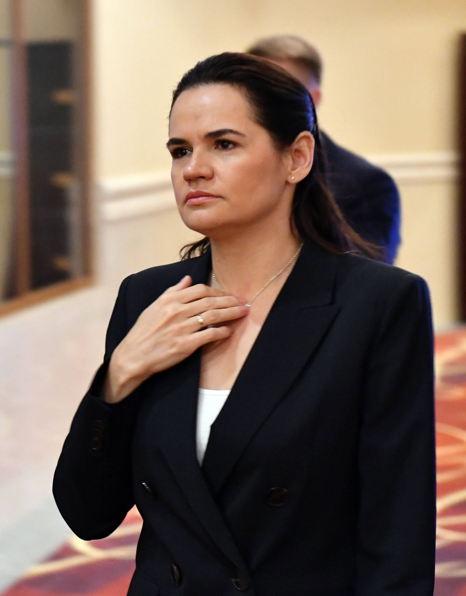 Polen, Wirtschaftsforum in Karpacz mit Swetlana Tichanowskaja Economic Forum 2020 in Karpacz Belarusian opposition leade