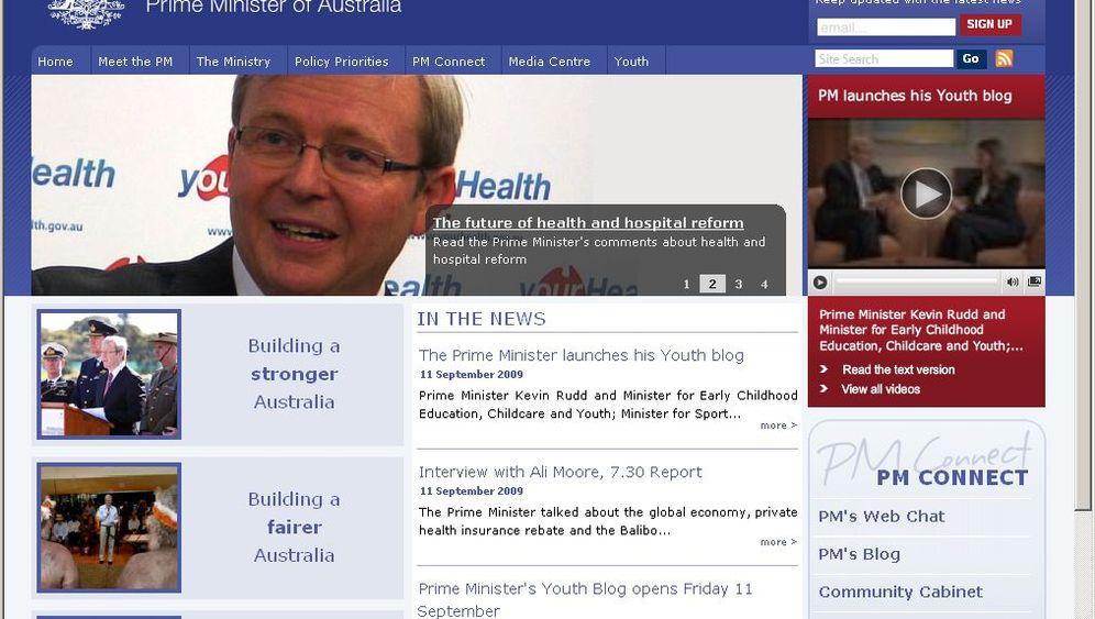 Anonymous: Cyber-Protest gegen die Regierung Rudd