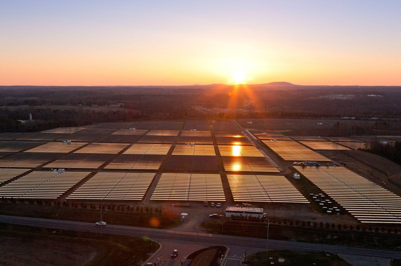 Apple nutzt Solarstrom