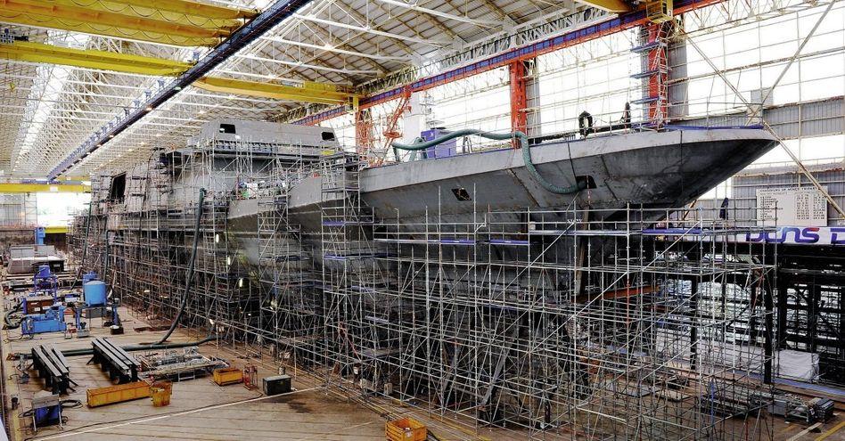 Fregatten-Fertigung bei DCNS