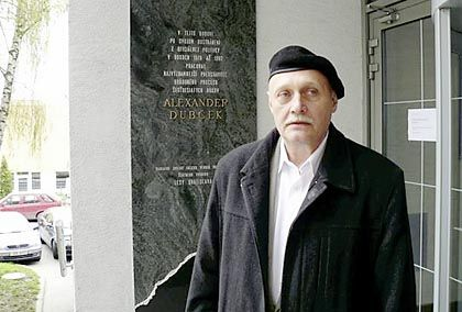 """Alexander Dubcek's son Pavol says the way his father died is """"rather strange."""""""