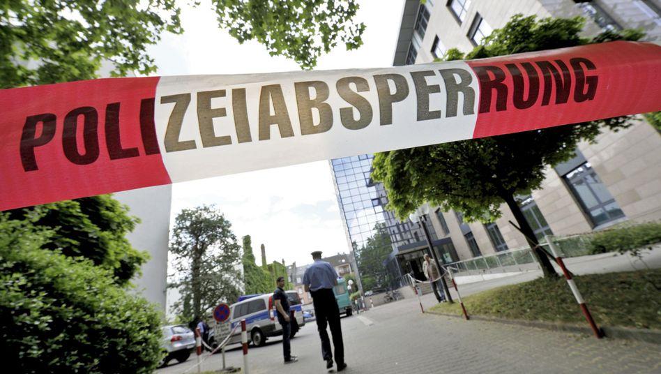 Jobcenter in Frankfurt: Tödliche Auseinandersetzung zwischen einer Frau und der Polizei