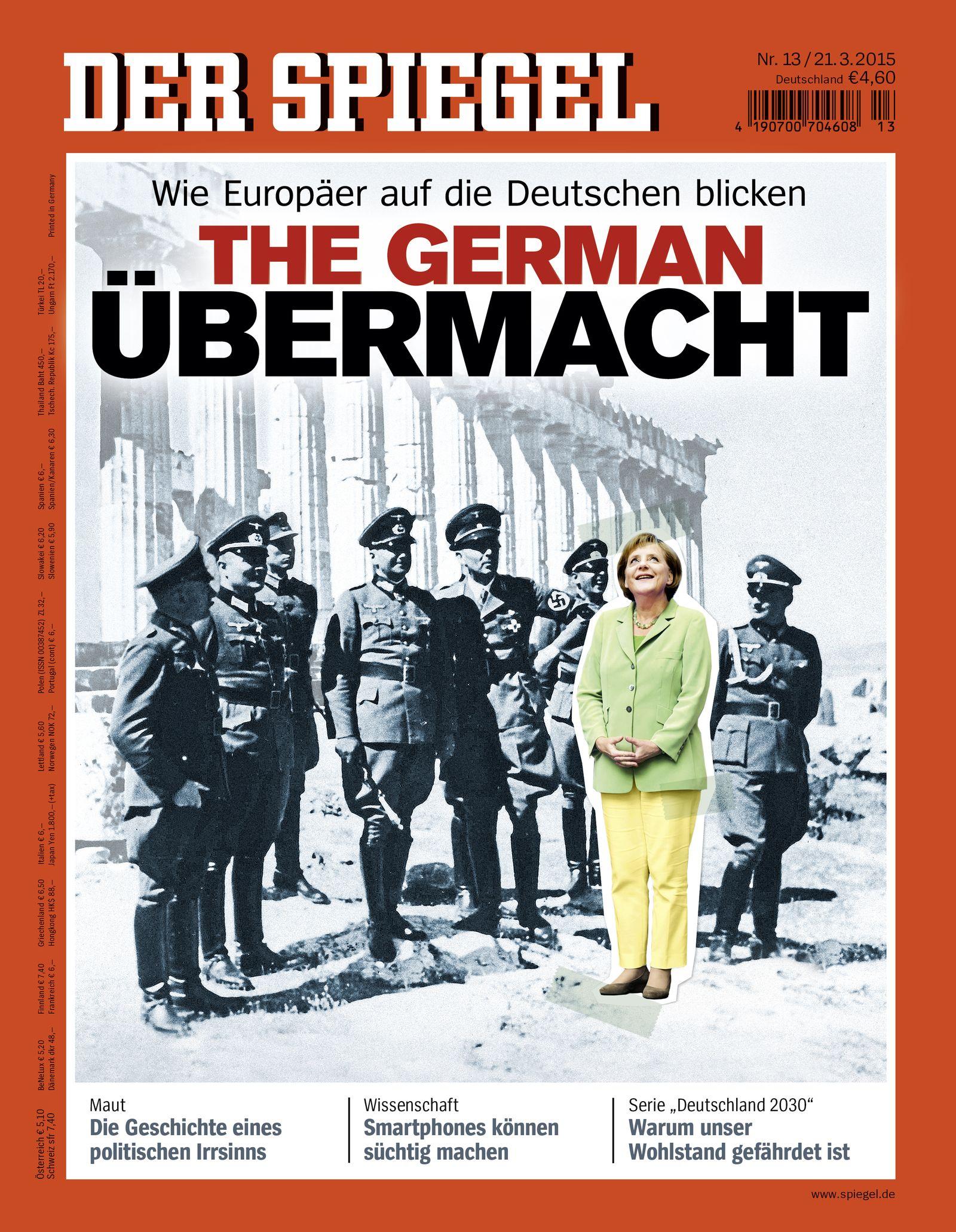 Cover Titelbild DER SPIEGEL 13/2015