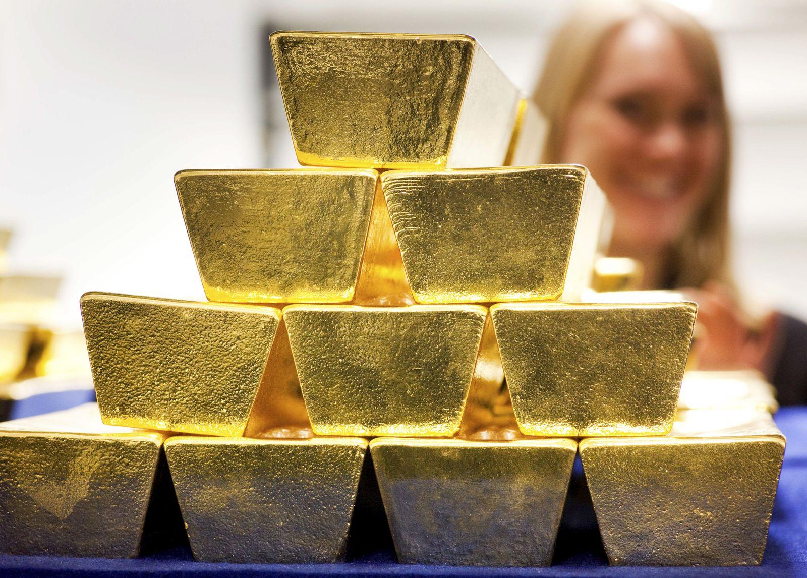 Gold / Deutsche Börse / Goldbarren