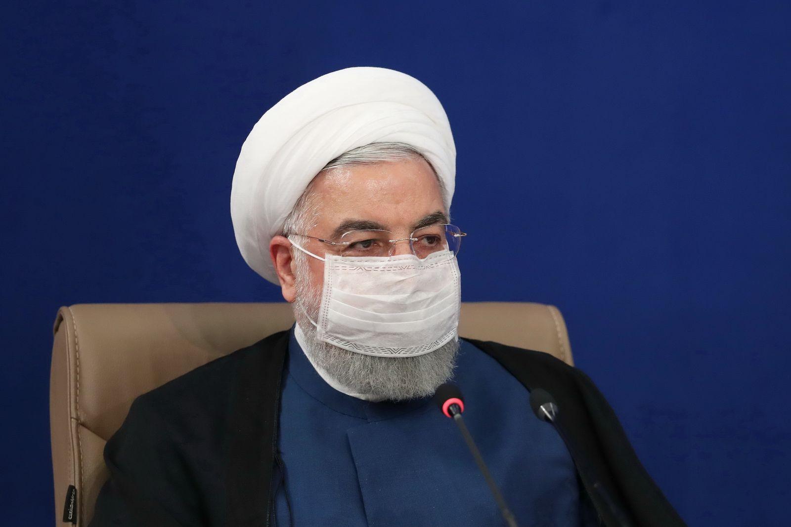 Kabinettssitzung im Iran