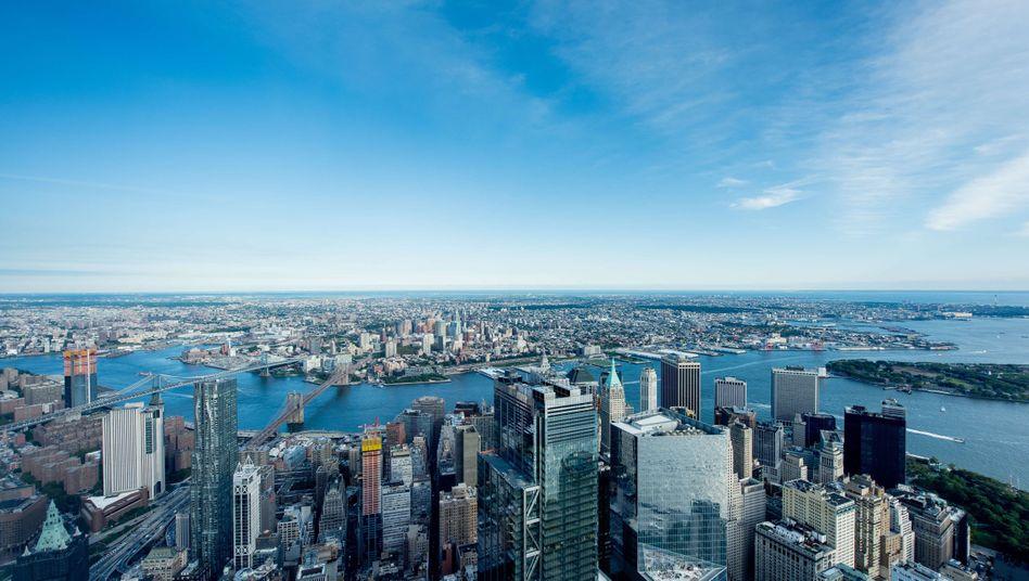 Bankenmetropole New York