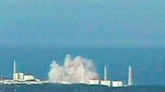 Explosion im Atomkraftwerk Fukushima