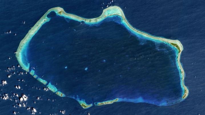 US-Atomtests: Mondlandschaft am Bikini-Atoll