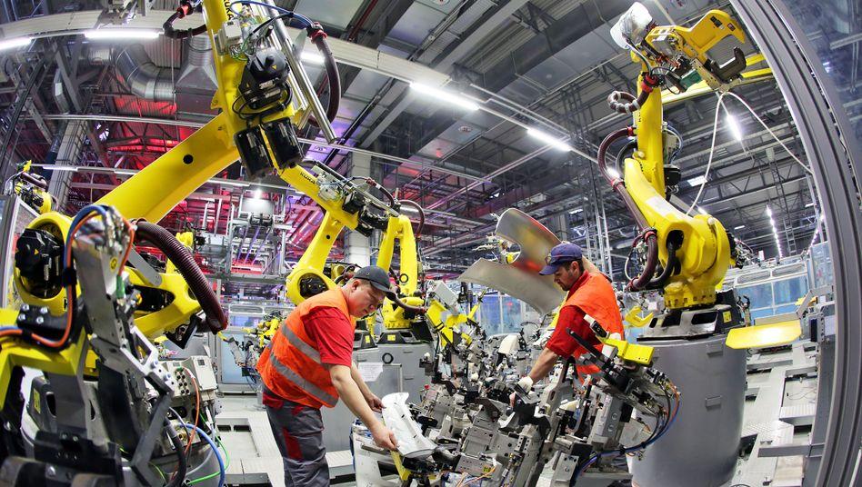 Facharbeiter in Deutschland sind hoch qualifiziert