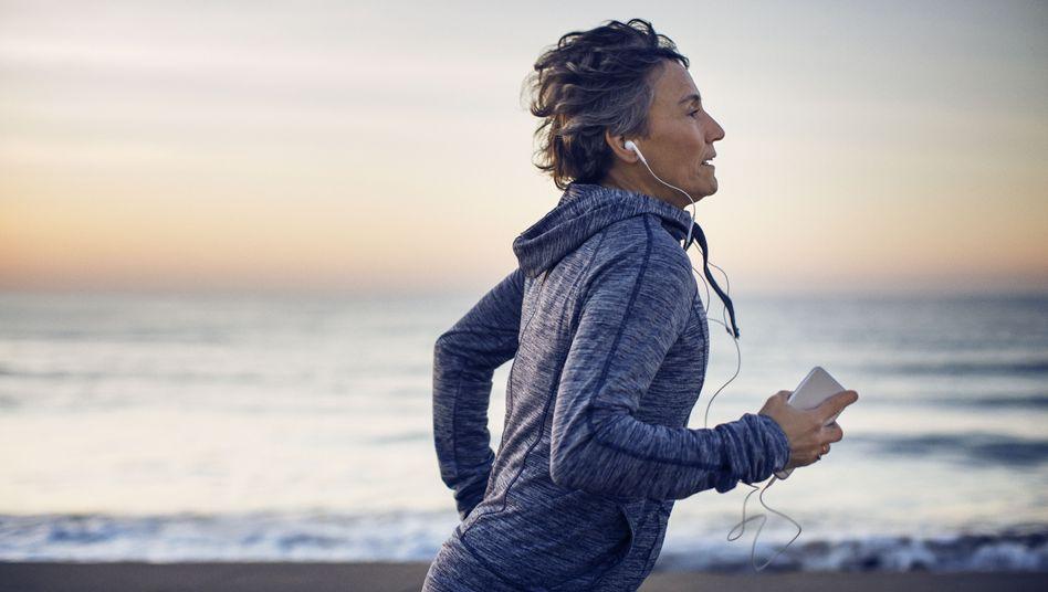 Viel Bewegung und eine gesunde Ernährung stärken auch unsere geistige Gesundheit