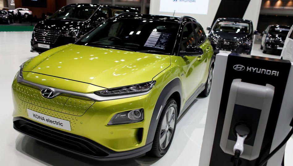 Elektroauto von Hyundai: Anleger reißen sich um die Aktie