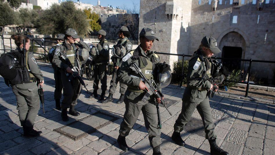 Grenzpolizistinnen in Jerusalem: 19-Jährige von Palästinensern getötet