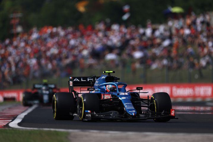 Esteban Ocon feierte in Ungarn seinen Debütsieg in der Formel 1