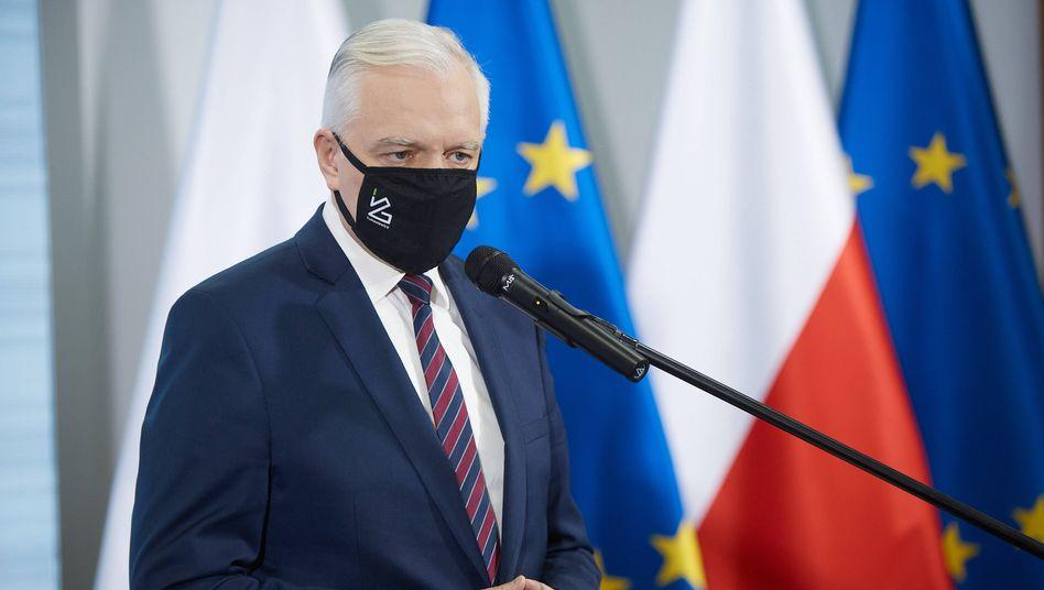 PolensVizeregierungschef Jarosław Gowin