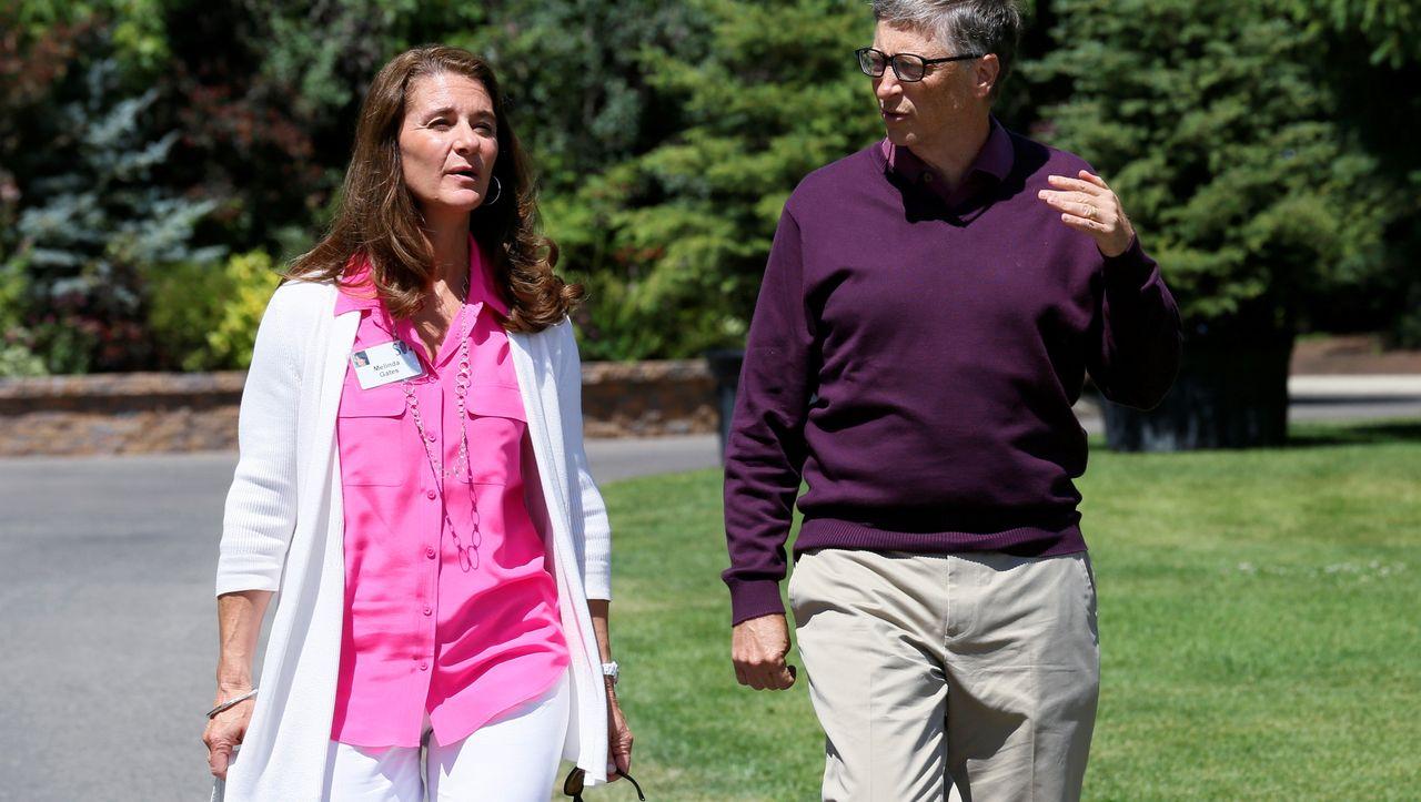 Scheidung von Bill und Melinda Gates: Ihre Ehe in Bildern