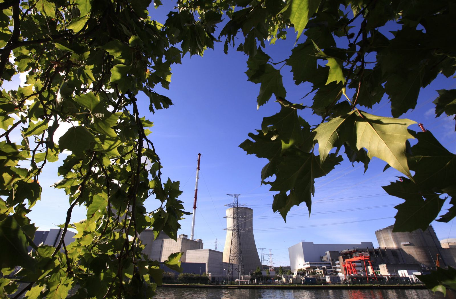Tihange / Atomkraftwerk / Belgien / Sicherheit