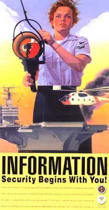 Plakat-kampagne der US-Geheimdienste: Sicherheit über alles