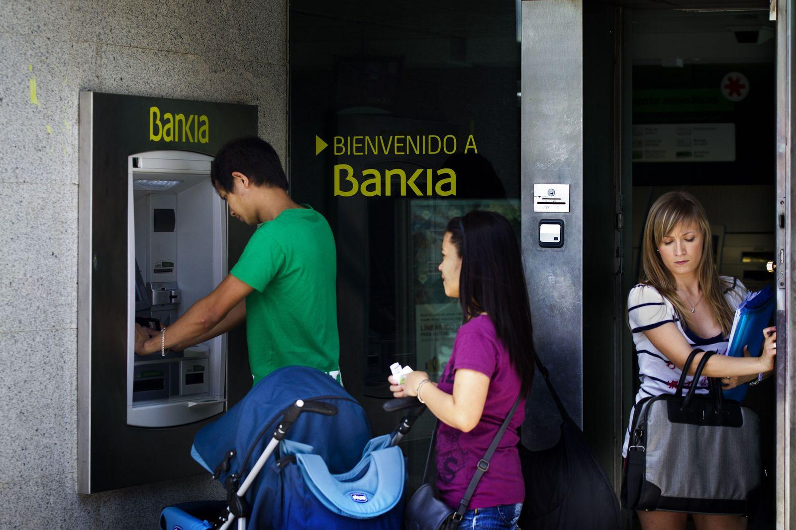 Spanien/ Finanzkrise / Bankia