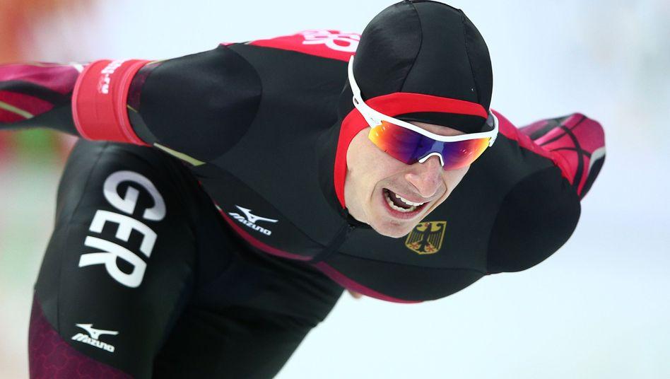Robert Lehmann-Dolle bei den Olympischen Spielen von Sotschi 2014