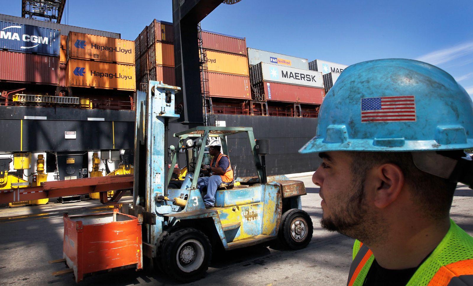 Container / Freihandelsabkommen / USA / Handel / Konjunktur